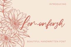 Lemonfresh - Handwritten Font Product Image 1