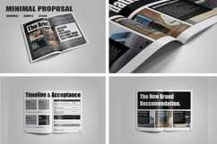 Minimal Proposal Template Product Image 4