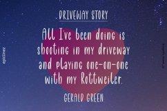 Driveway | A Fun Font Product Image 4