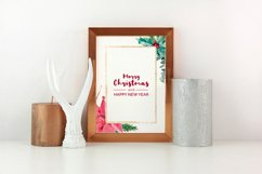 Christmas watercolor geometric frames Product Image 4