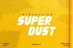 Super Dust Font Product Image 1