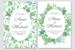 Wedding invitations vector set #2 Product Image 6