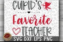 Valentine Cupid's Favorite Teacher Cut File Product Image 1