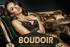 10 Boudoir Photoshop Actions And ACR Presets, Sexy Theme Product Image 1