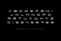 X-Space Font Product Image 2