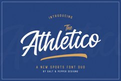 The Sports Font Bundle Product Image 3