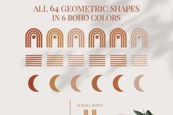 Boho Geometric Shapes & Elements - More than 500 Product Image 7