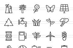 50 Ecology Line Icons Product Image 2