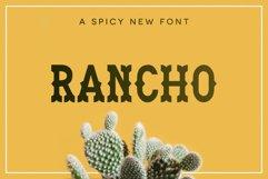 Rancho Font Product Image 1