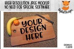 Kitchen Cutting Board Mock Up Mockup Product Image 1