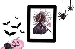 Halloween Characters Clipart, Halloween PNG File Product Image 2