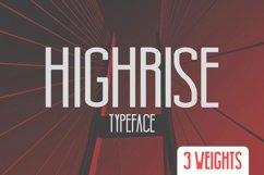 Highrise Typeface Product Image 1