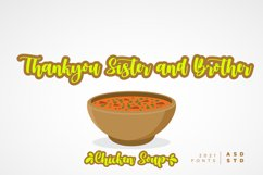 Chicken Soup - A Beauty Calligraphy Product Image 3