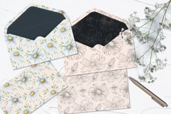 Daisy Watercolor Clipart Product Image 6