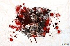 20 Beautiful portrait paint masks, halloween, Photoshop Product Image 9