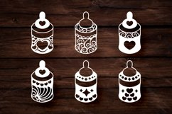 Papercut Cute Baby Feeders with Decorations Set Product Image 3