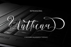 Anthena Script Product Image 1
