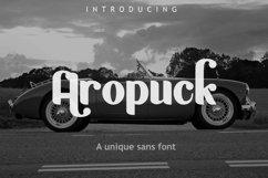 Aropuck Font Product Image 1