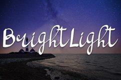 bright light script handwritten font Product Image 1