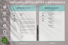 Modern Resume Template and Cover Letter. Fully editable CV Product Image 3