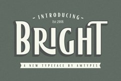 Bright Font Product Image 1