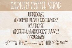 Barney Coffee Shop - A handritten font Product Image 2