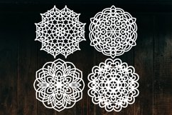 Snowflake SVG, Christmas Snowflakes, Snowflakes Laser Cut Product Image 5