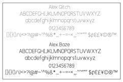 Alex Font Trio Product Image 10