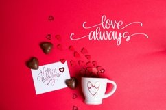 Web Font Heart You - A Script With Hearts & Swooshes Product Image 3