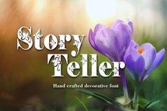 Storyteller font Product Image 1