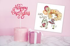 Funny Valentine Cards, Digital Clipart Valentines, Birthday Product Image 4