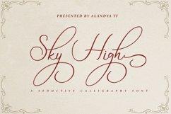 Sky High script Product Image 1