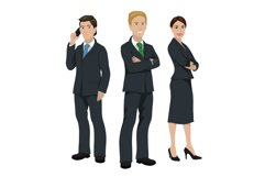 Business people illustration Product Image 1