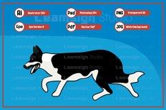 Walking dog character illustration Product Image 1