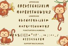 Baby Tarzant - A Cute Animal Font Product Image 4