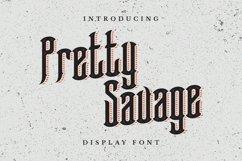 Pretty Savage Font Product Image 1