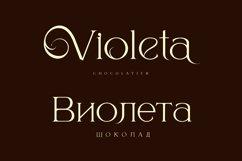 Berold - serif artistic font Product Image 2