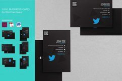3 In 1 Simple Business Card Product Image 4