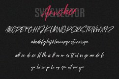 Arusher Brush Font Duo Svg Script Product Image 5