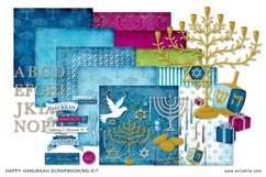 Happy Hanukkah Digital Scrapbooking Collection Product Image 4