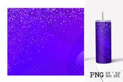 Skinny tumbler sublimation Valentines ombre design 20oz Product Image 3