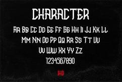 Brahmana - Modern Gothic Serif Sports Typeface Product Image 2