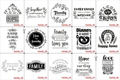Family Quotes SVG bundle Vol. 2 Quotes & Sayings dxf pdf png Product Image 2