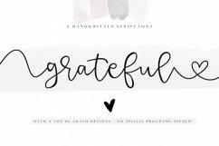 Grateful - Handwritten Script Font Product Image 1