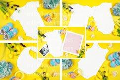Baby Wear Onesie Bodysuit Bib Mockup Styled Photo Bundle Product Image 2
