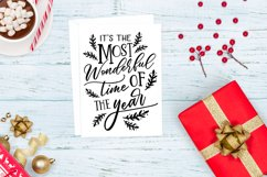 It's the Most Wonderful Time of the Year SVG, Christmas Product Image 3