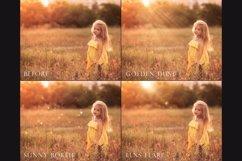 Golden light photoshop overlays Product Image 4