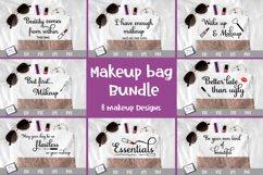 Makeup Bundle - 8 Makeup Bag SVG Designs Product Image 2
