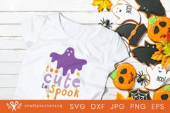 Too cute to Spook Halloween Svg Fall Quote Ghost Clipart Product Image 2