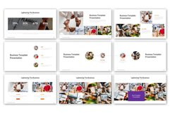 Lightening of Business Presentation Template Product Image 5